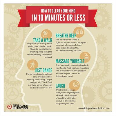 How to clear your mind in 10 minutes or less