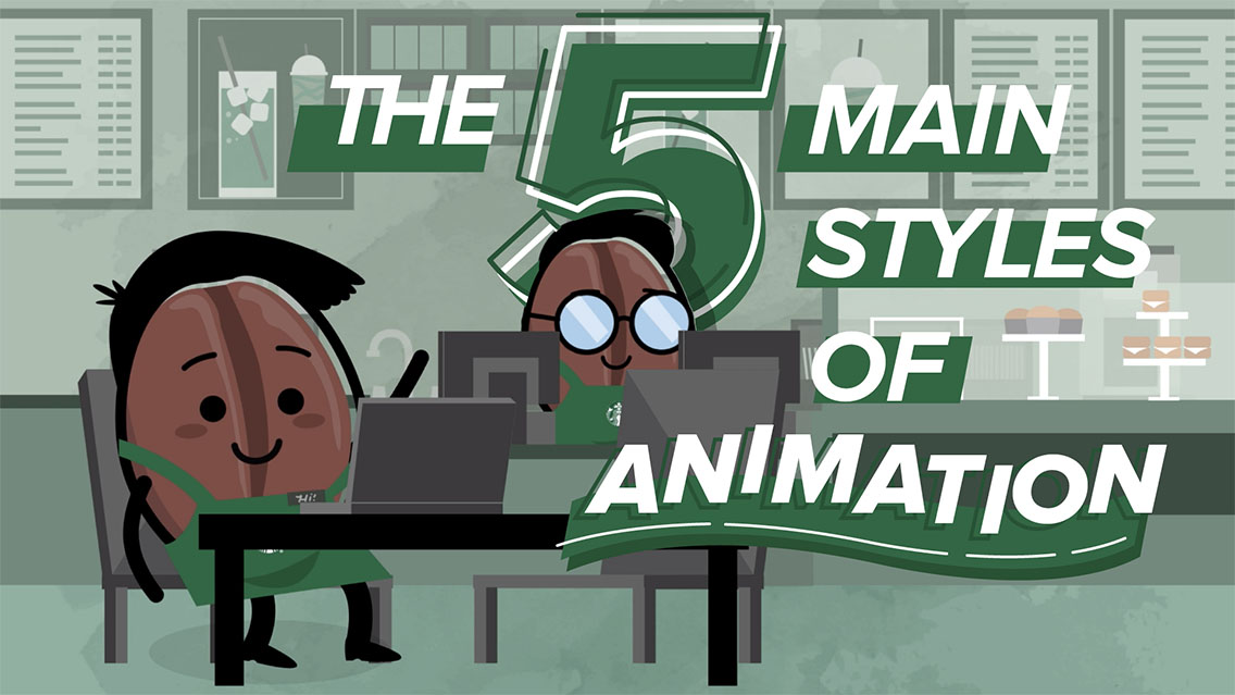 5 main styles of animation and animated videos