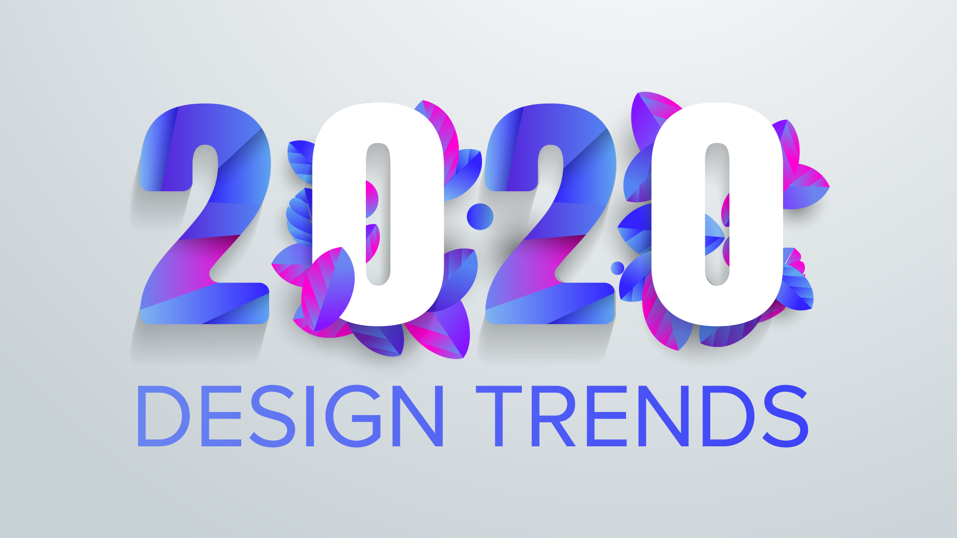 Design Trends 2020 floral