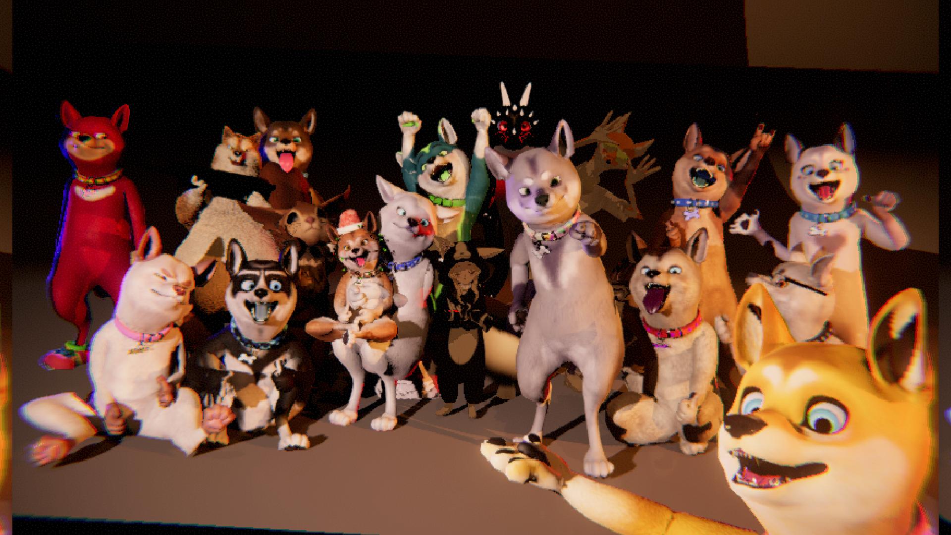 The Shiba Squad which is a social VR phenomenon on social media