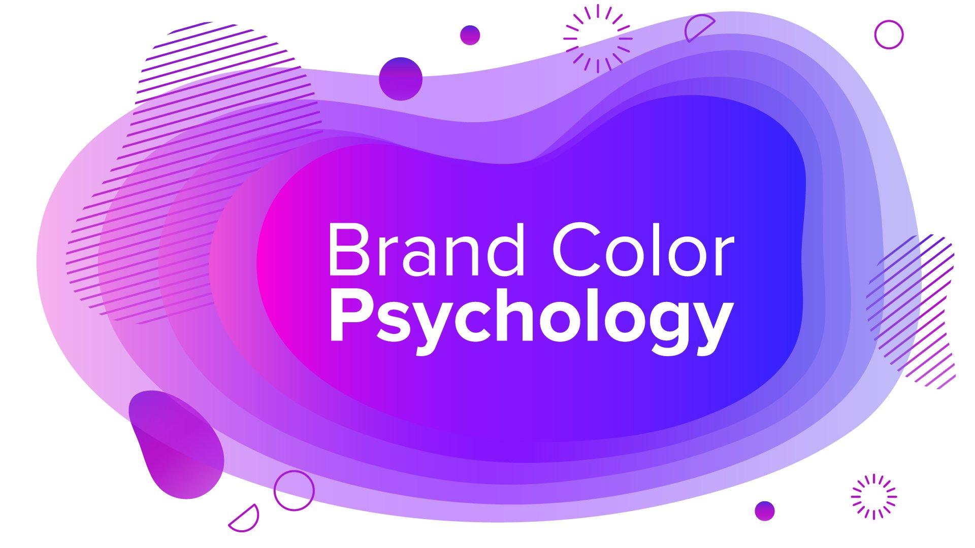Brand color psychology graphic design
