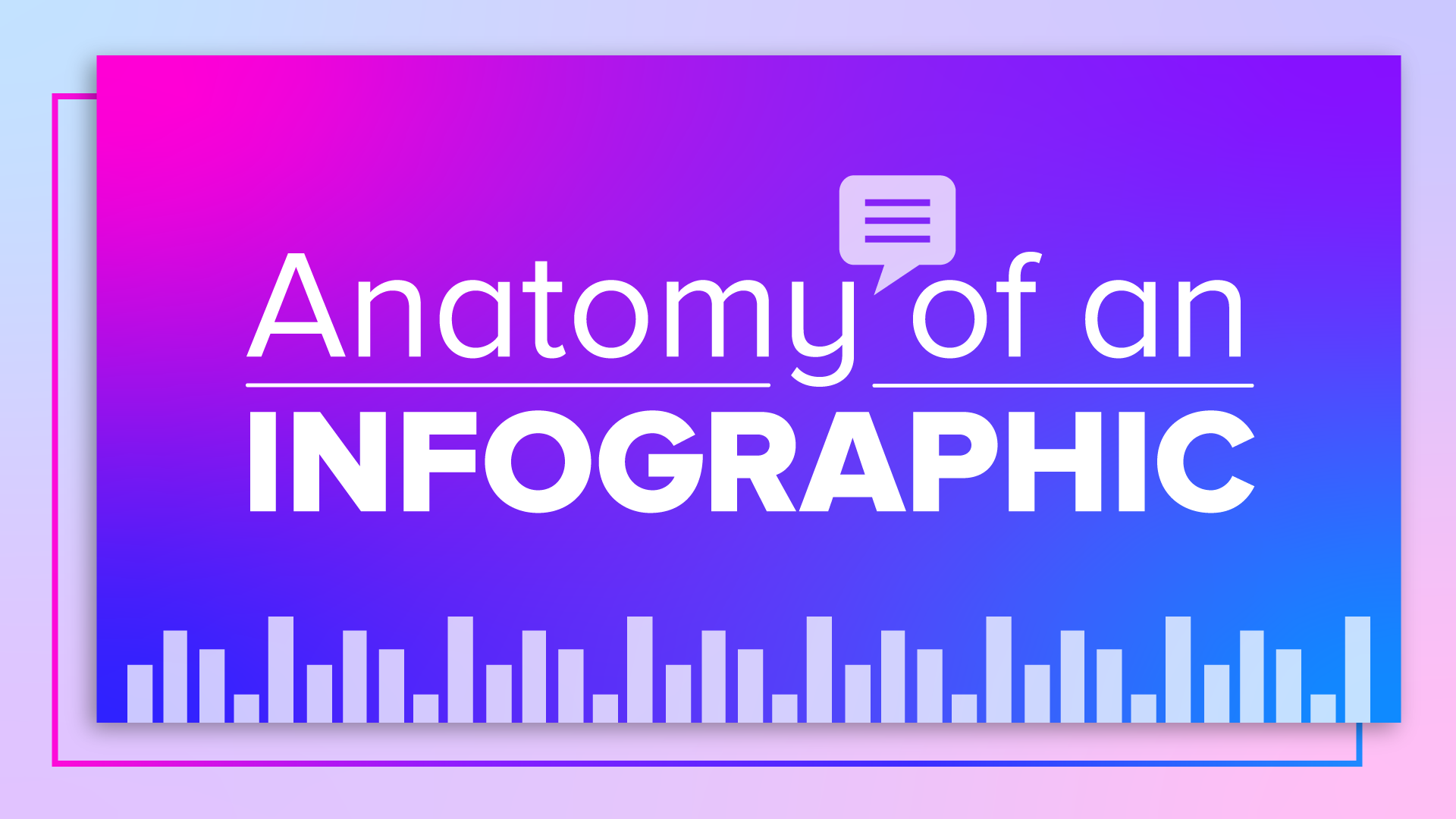 Anatomy of an infographic