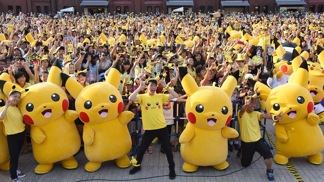 Pokemon brand fans