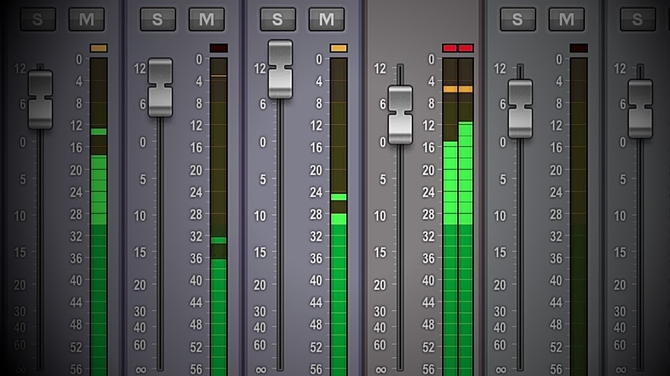 dB meter in ProTools