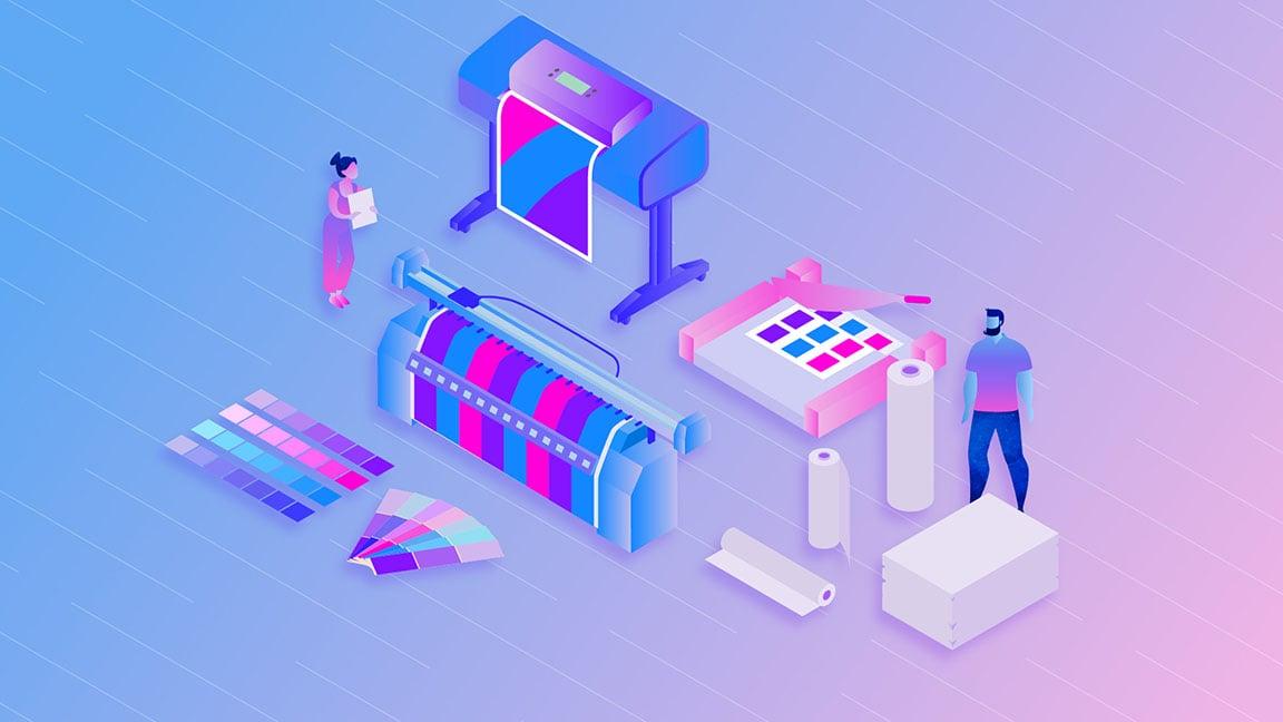 Design project printing design