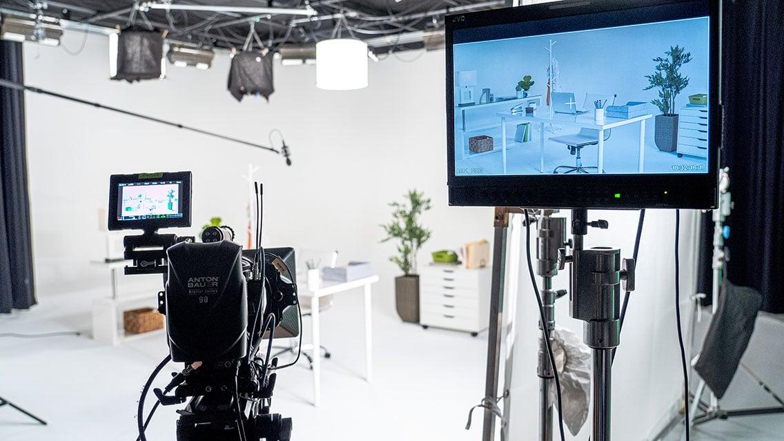 Set design video production.