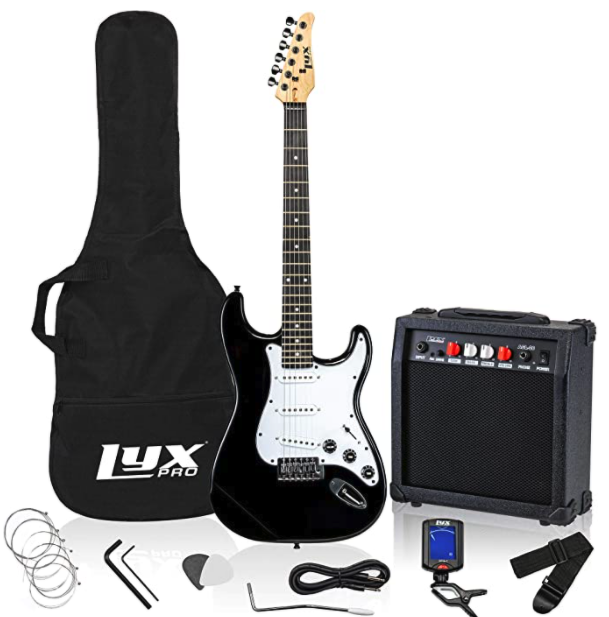Electric guitar set online shopping professional photography
