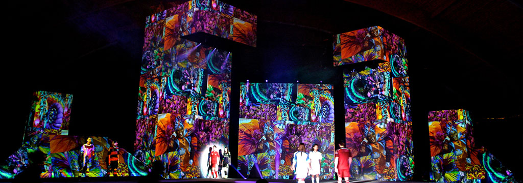 Projection mapping video